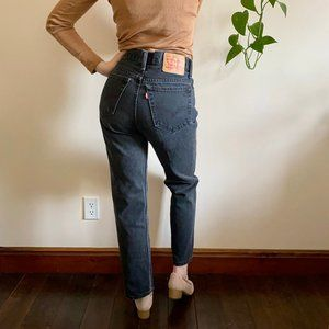 Levi's Mom Jeans 516 Straight Leg